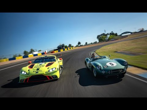 2019 24 Hours of Le Mans | Aston Martin DBR1 1959 winning Le Mans car with 2019 Vantage GTE